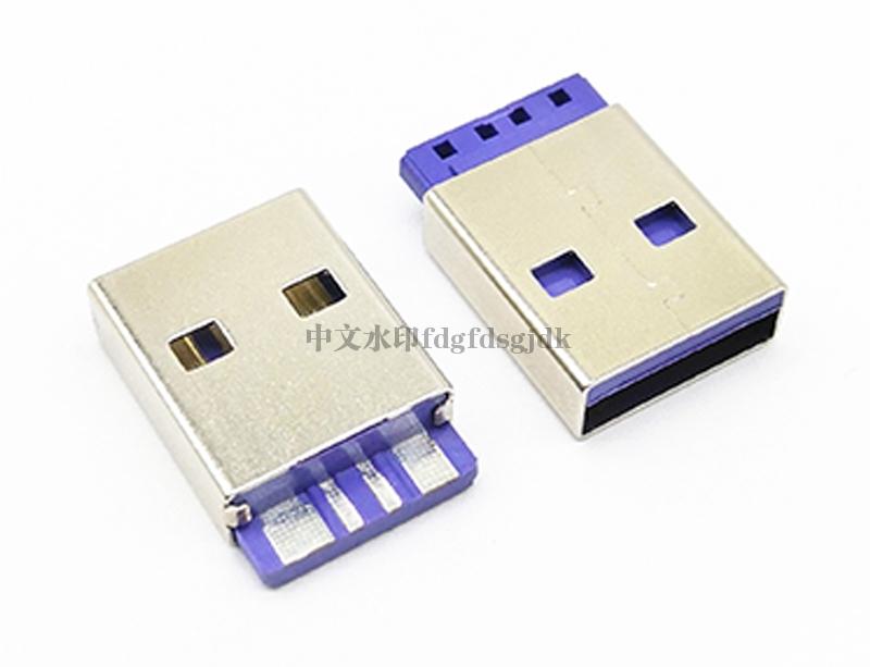 USB 2.0 AM 焊线 L=17.0 大电流