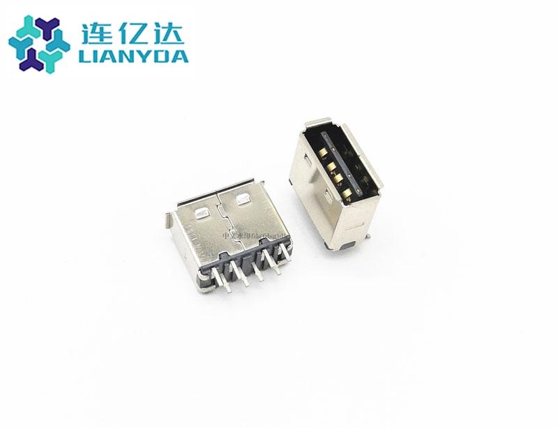 USB 2.0 AF 双排直插  双面插C款