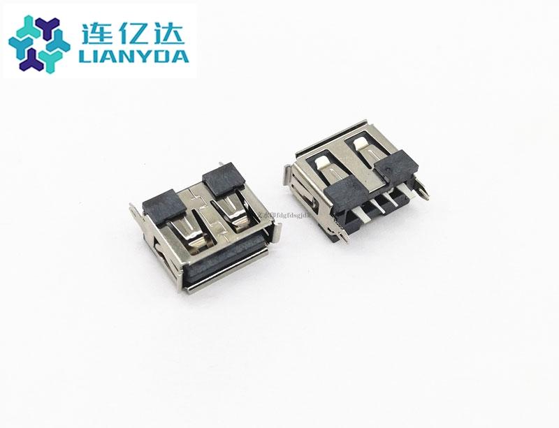 USB 2.0 AF  短体直插L=10.0 大电流