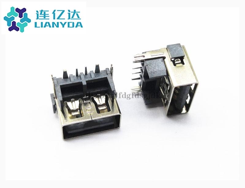 USB 2.0 AF 短体系列L=10.0 H=9.8 大电流