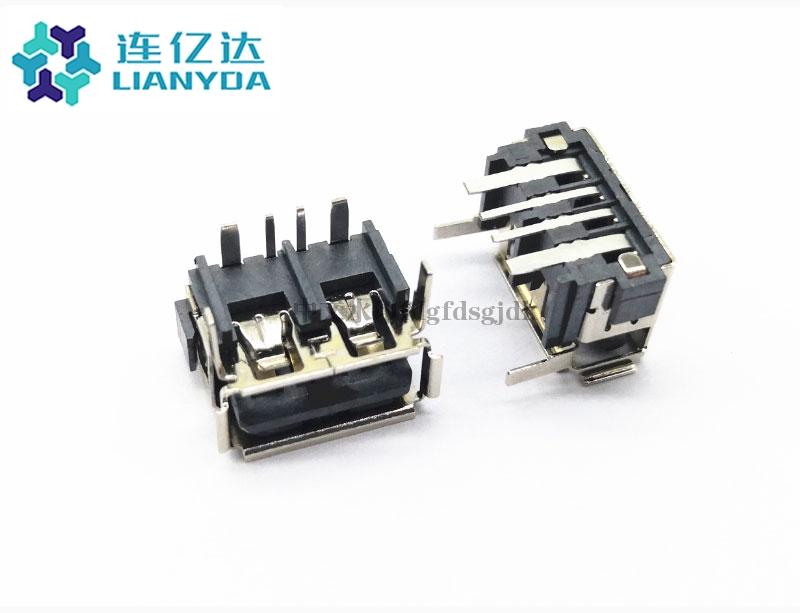 USB 2.0 AF 短体系列L=10.0 H=7.8 大电流