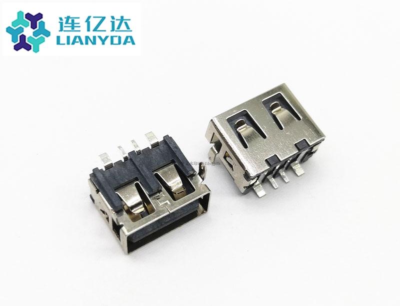 USB 2.0 AF 短体系列L=10.0 H=7.0 大电流