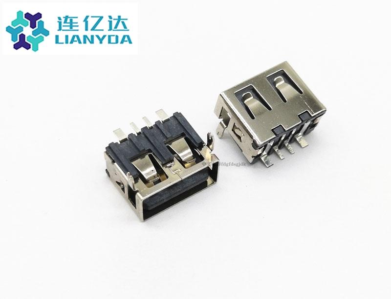 USB 2.0 AF 短体系列L=10.0 H=6.8 大电流
