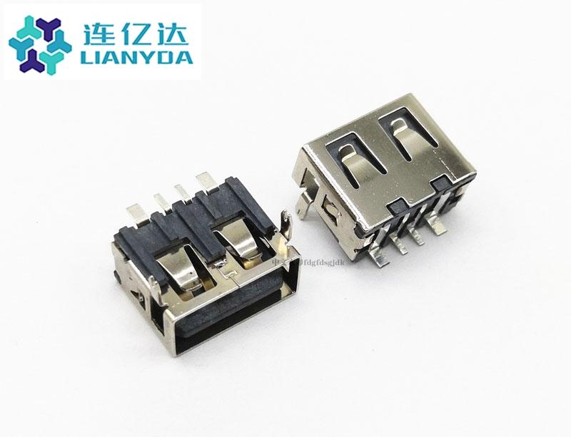 USB 2.0 AF 短体系列L=10.0 H=6.5 大电流