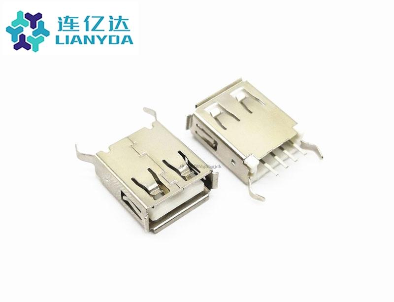 USB 2.0 AF  直插系列 L=15.1