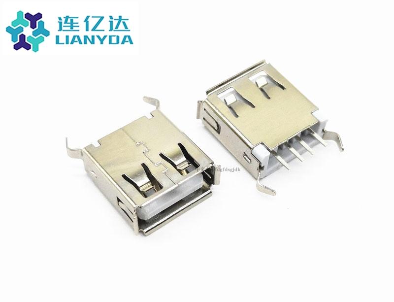 USB 2.0 AF  直插系列 L=13.7