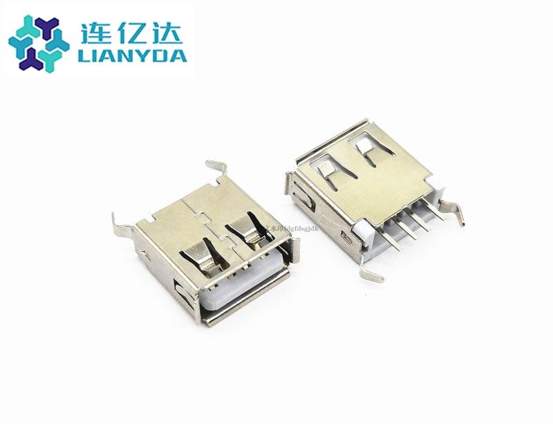 USB 2.0 AF  直插系列 L=13.1