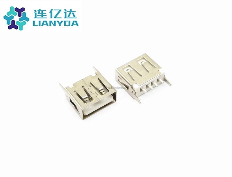 USB 2.0 AF  直插系列 L=10.5
