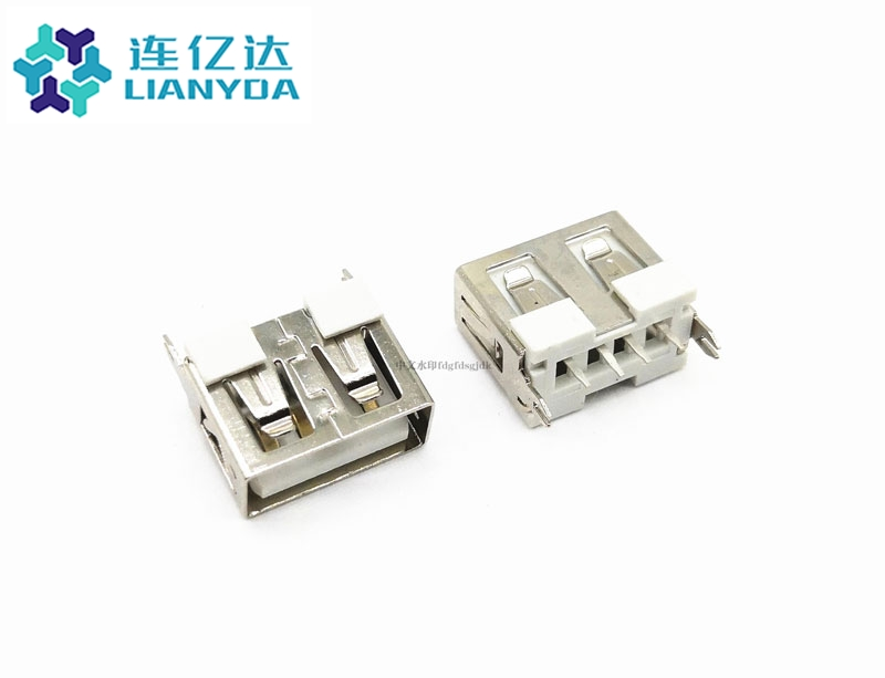 USB 2.0 AF  短体直插L=10.0
