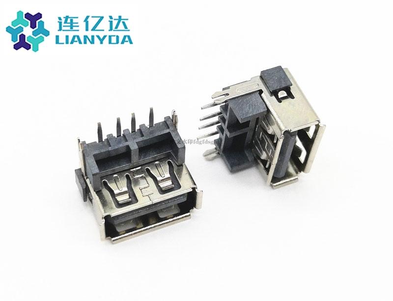 USB 2.0 AF 短体加高L=10.0 H=8.7or9.8