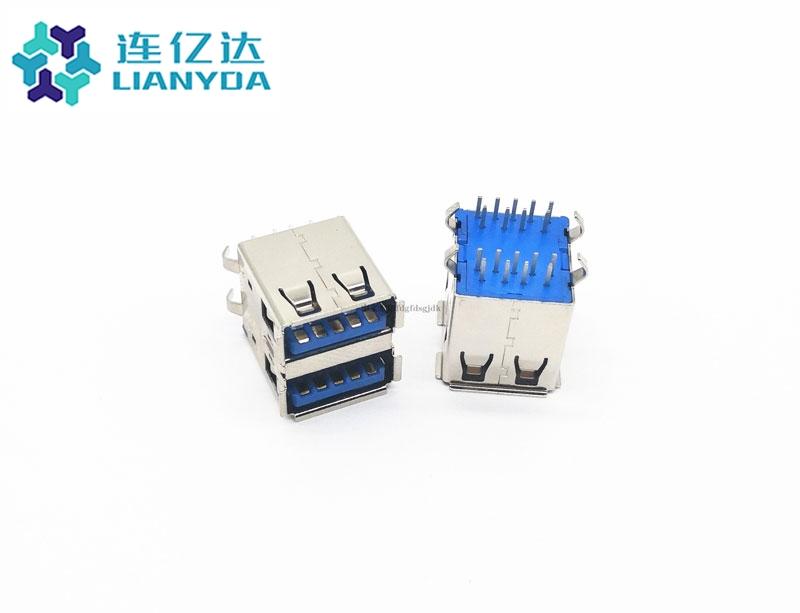 USB 3.0 AF 双层直插