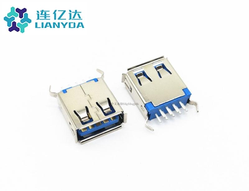 USB 3.0 AF 直插 L=13.7