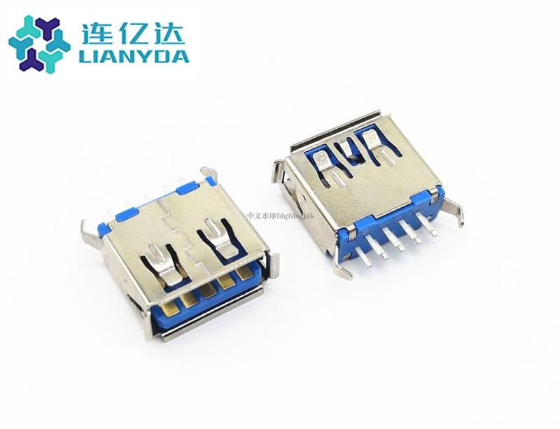 USB 3.0 AF 直插 L=11.5