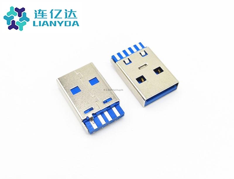USB 3.0 AM 焊线 第四根端子短路 接地线 手动焊
