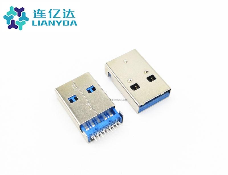 USB 3.0 AM 沉板 板上3.2