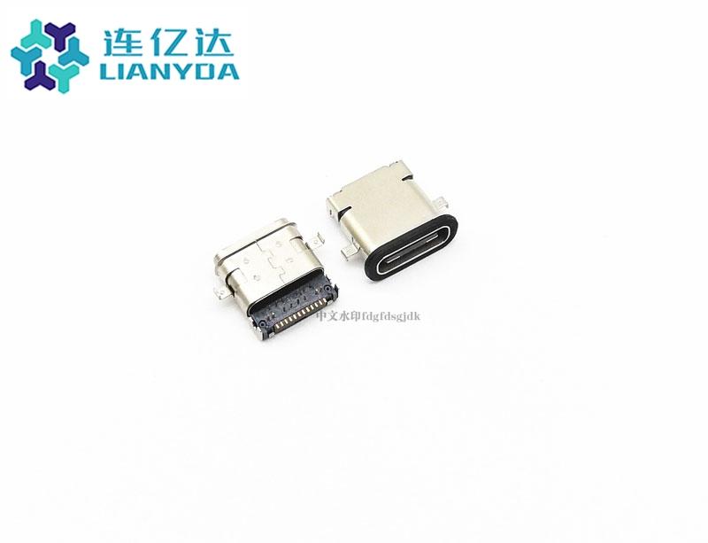 USB3.1 CF 24Pin 沉版 前插后贴 防水款