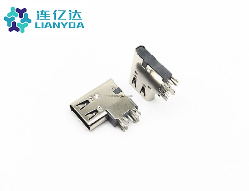 USB3.1 CF 6Pin 侧插 垫高